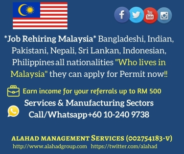 Foreign Workers Levy Rate For Malaysian Work Permit 2018